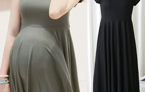 Summer Fashion Maternity Dresses Clothes For Pregnant Women